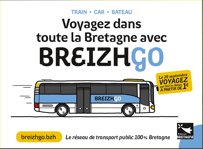 Voyagez dans toute la Bretagne avec BREIZHGO