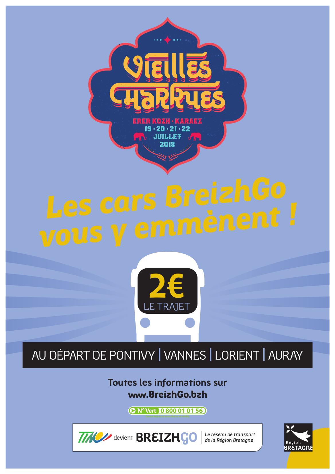 Les Vieilles Charrues du 19 au 22 juillet 2018