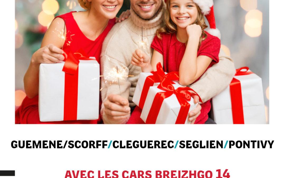 NOEL  avec les cars BREIZHGO 14 du 21 décembre 2019 au 4 janvier 2020