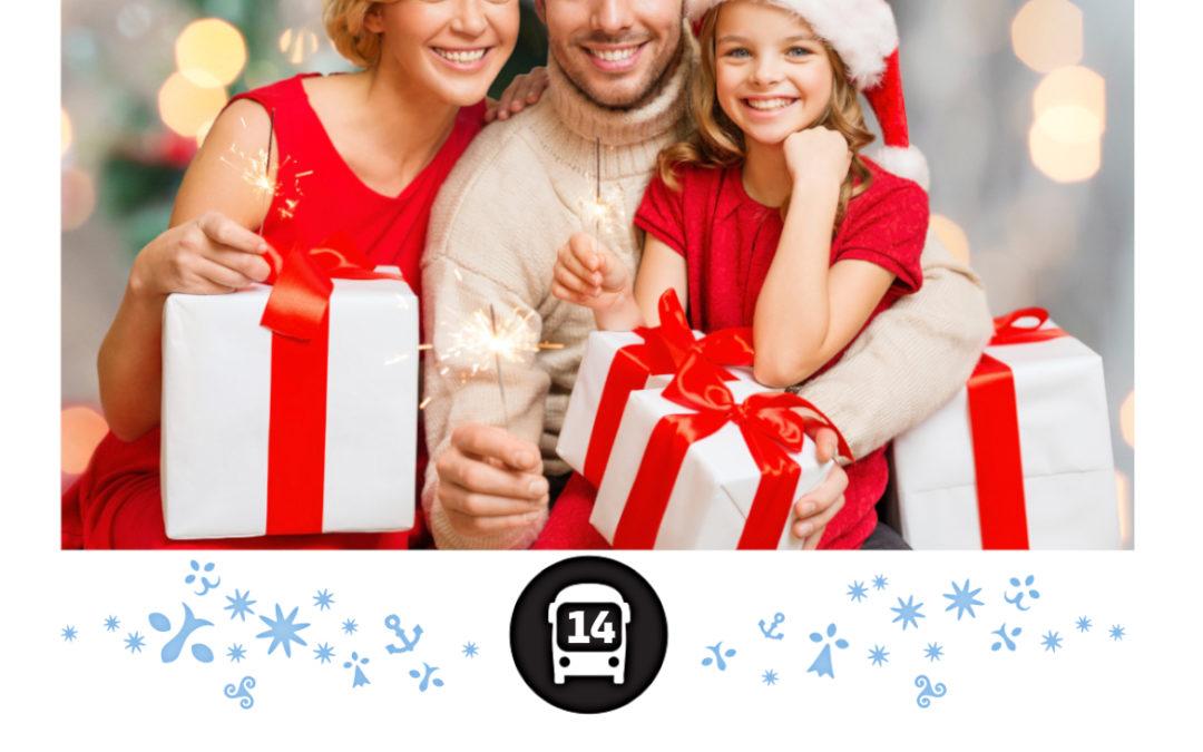 NOEL  avec les cars BREIZHGO 14 du 19 décembre 2020 au 2 janvier 2021