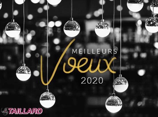 Les transports Taillard vous présentent leurs meilleurs voeux pour 2020